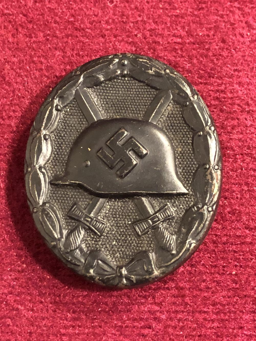 WWII German Nazi wound badge