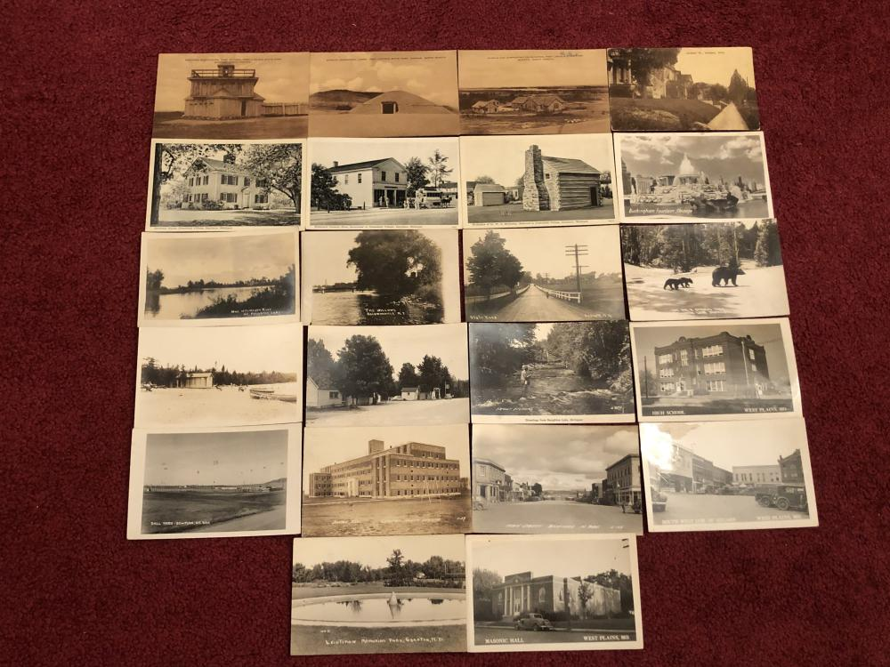Real photo postcards & real photo type
