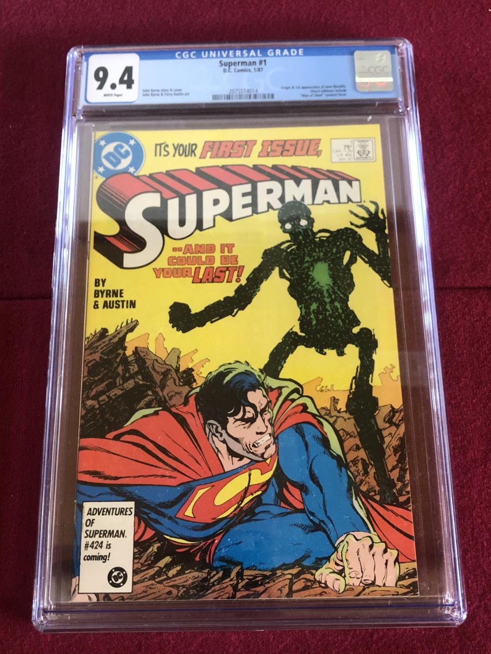 Superman #1 D.C. comic - graded