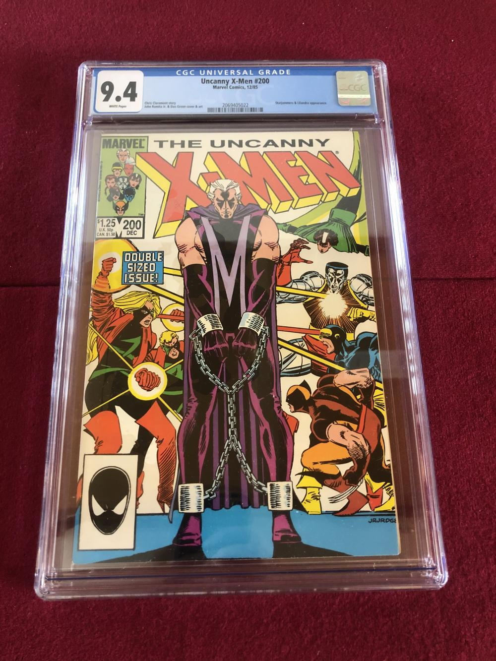 Uncanny X-men #200 Marvel comic - graded