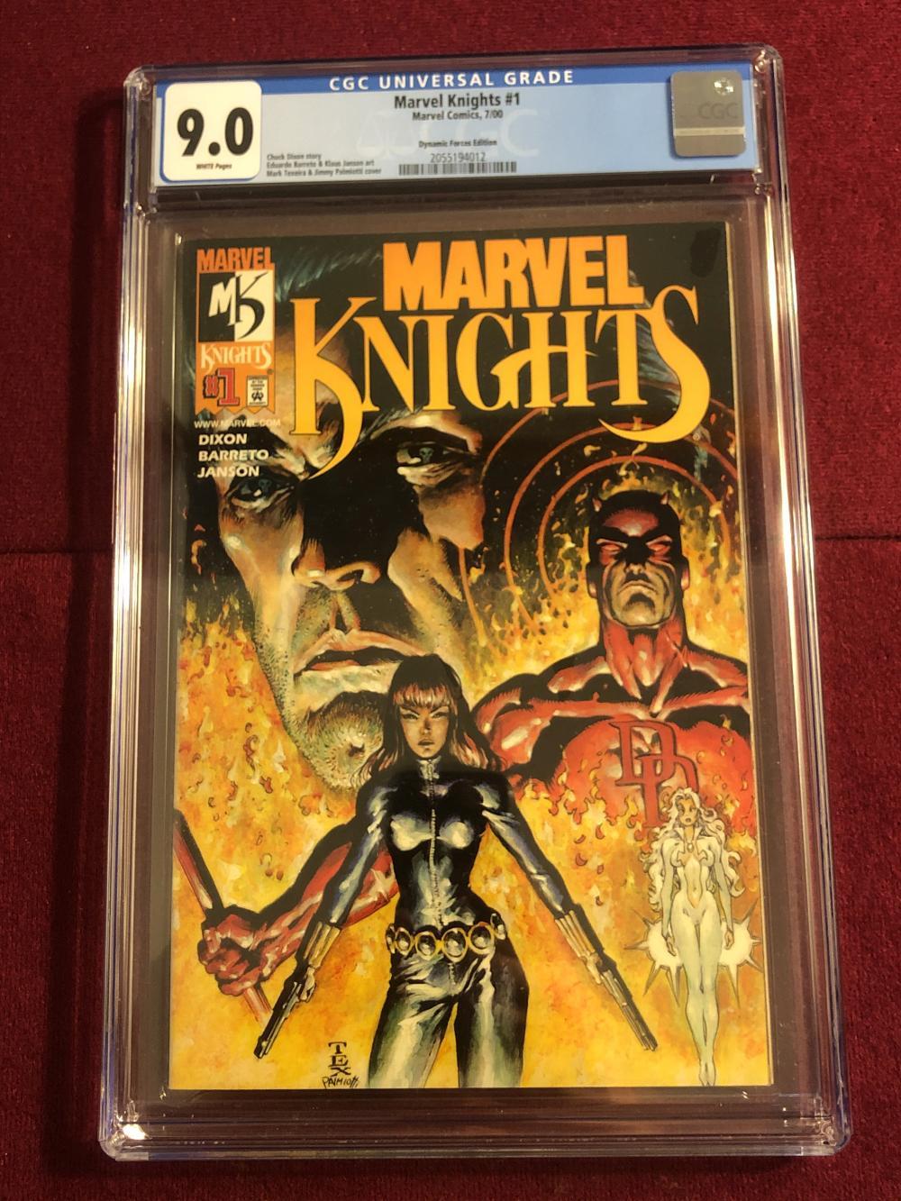 Marvel Knights #1 Marvel comic - graded