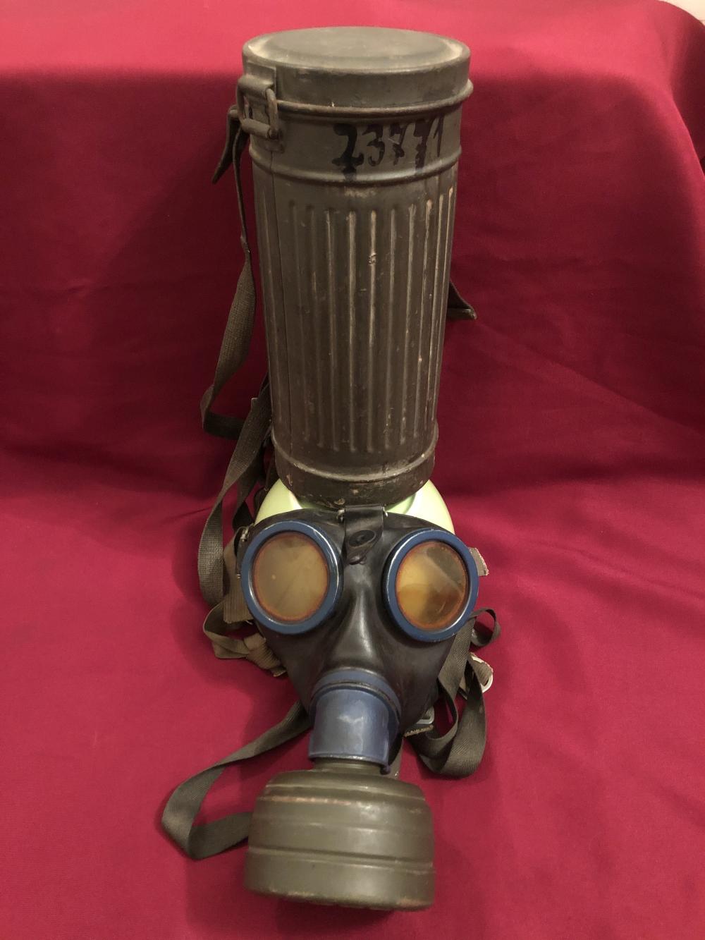 WWII German Nazi Gas Mask