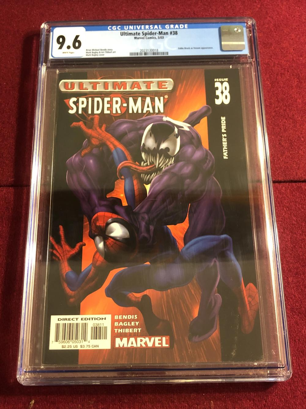 Ultimate Spider-man #38 Marvel comic - graded