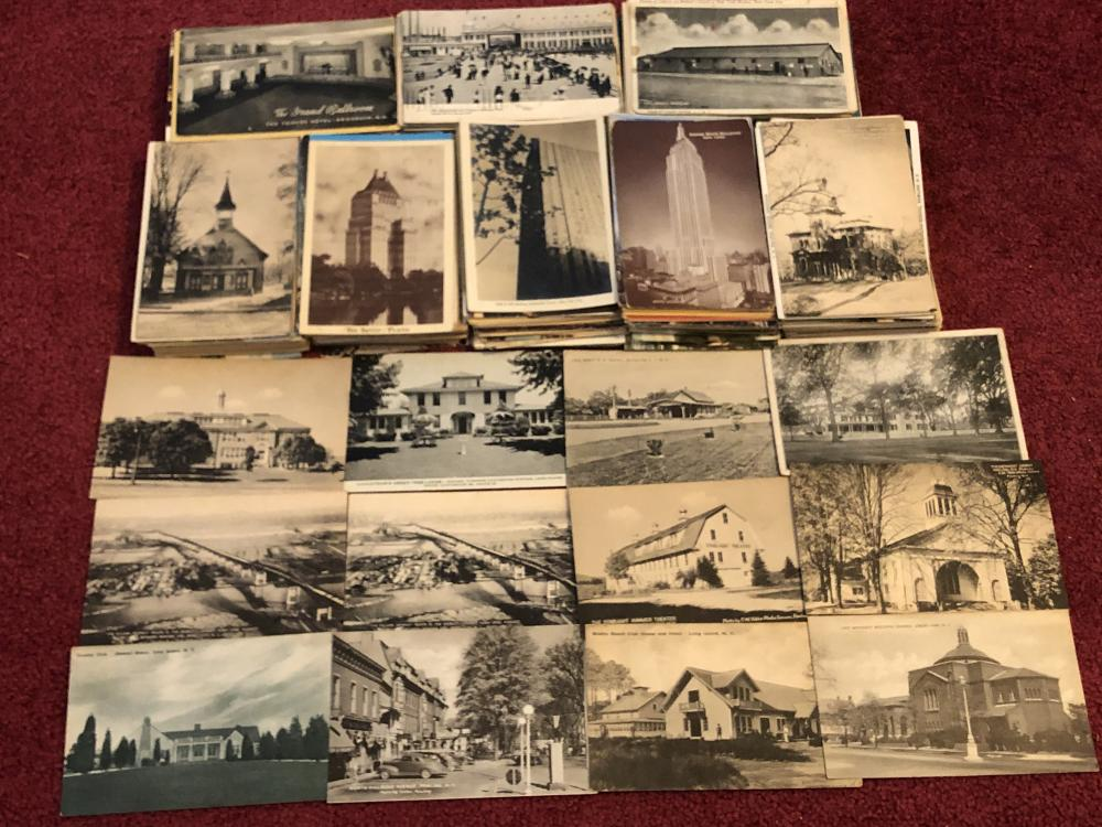 Large lot of New York & New Jersey postcards
