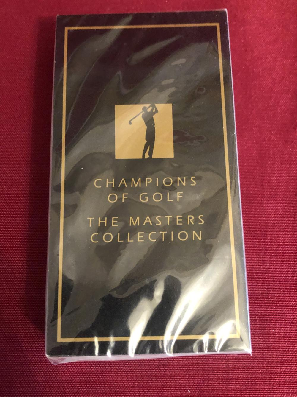 Set of 1997 champions of golf Masters collection