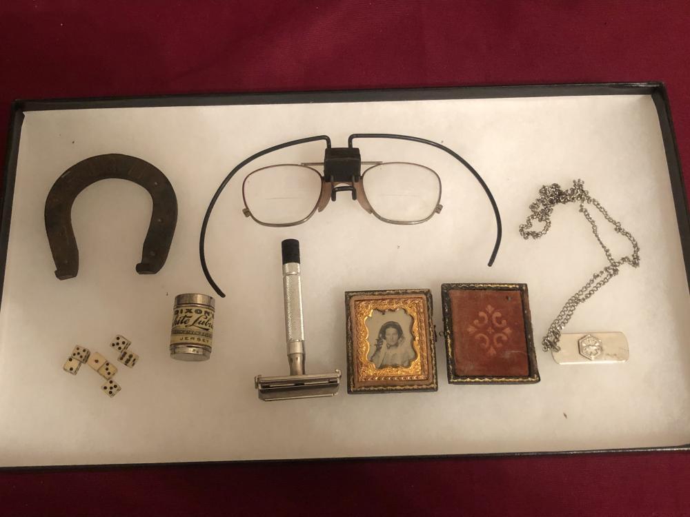 Lot of antique & vintage items