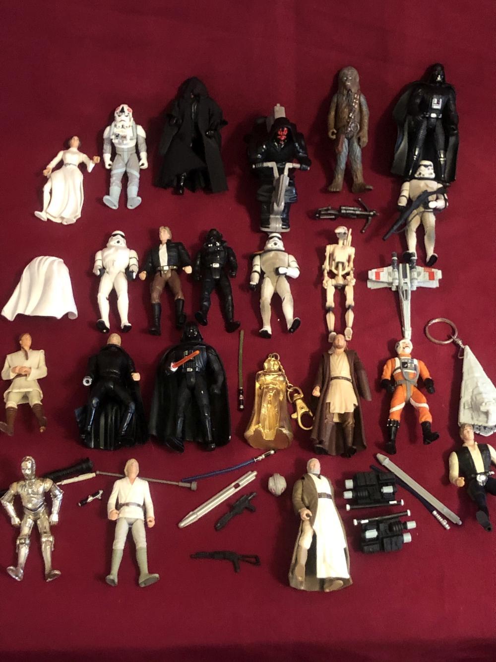 Star Wars figures & accessories - various years