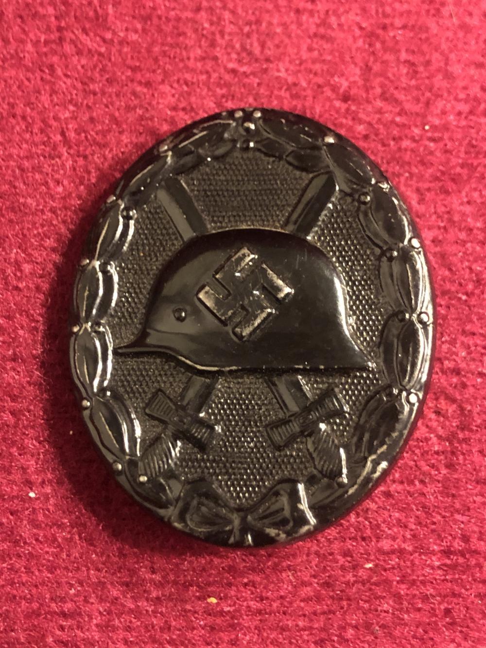 WWII German Nazi 3rd class wound badge