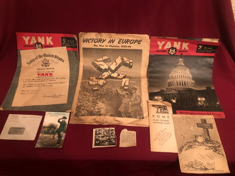 WWII and other ephemera