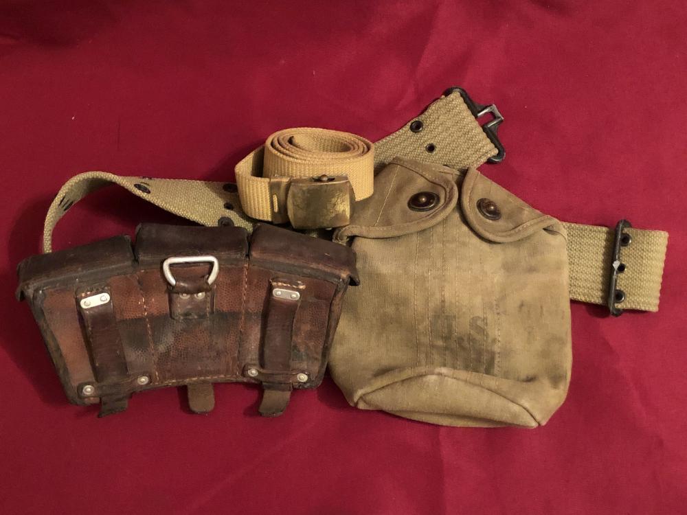WWII U.S. & German items