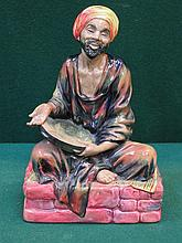 ROYAL DOULTON GLAZED CERAMIC FIGURE- MENDICANT, HN1365