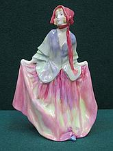 ROYAL DOULTON GLAZED CERAMIC FIGURE- SWEET ANNE, HN1330