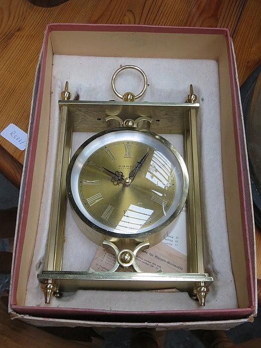 BOXED KIENZLE MANTEL CLOCK