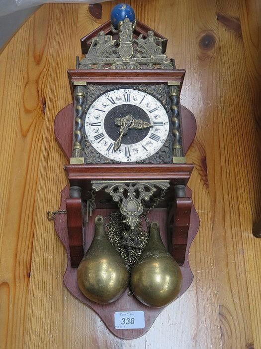 DUTCH STYLE WALL CLOCK