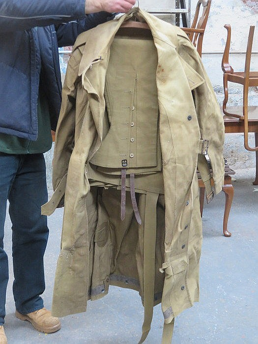 WORLD WAR II VICTORY GARMENT JACKET AND TROUSERS