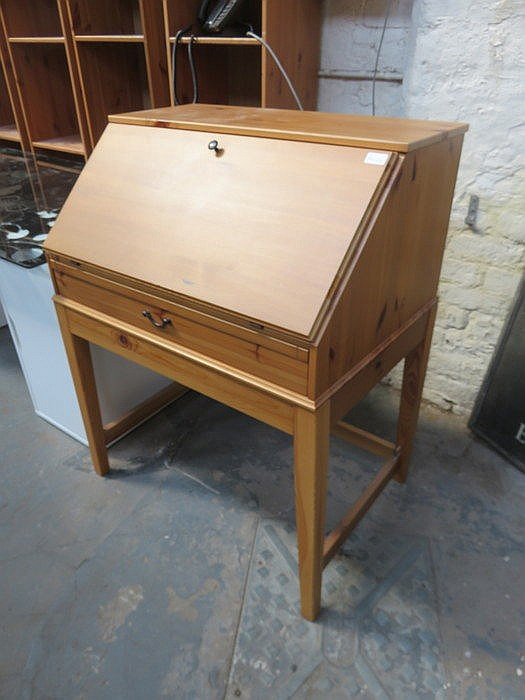 MODERN PINE WRITING BUREAU