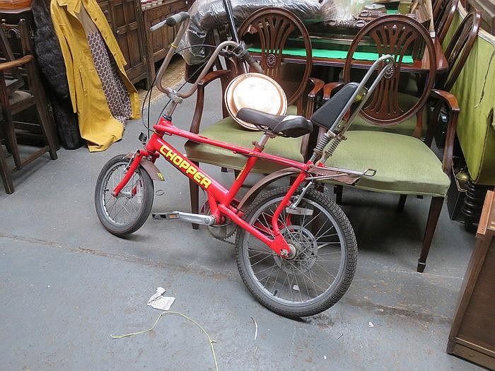 VINTAGE 'CHOPPER' BICYCLE