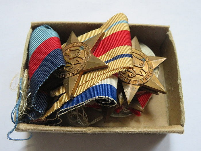 SMALL PARCEL OF SECOND WAR MEDALS
