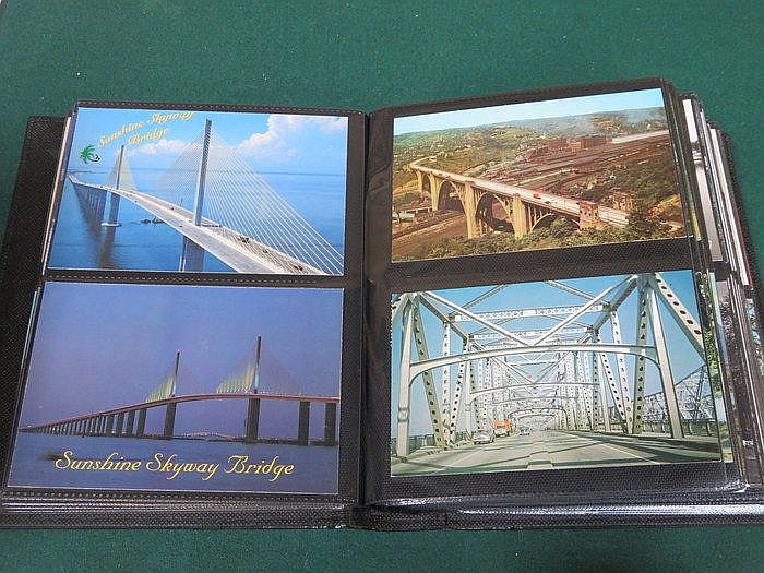 THREE ALBUMS OF VARIOUS POSTCARDS INCLUDING SOCIAL HISTORY, PORTS AND FOREI
