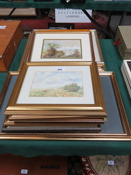 MIXED LOT OF VARIOUS PICTURES, PRINTS AND WATERCOLOURS