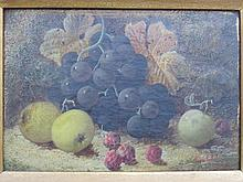 PAIR OF STILL LIFE OIL ON CANVASES, BOTH WITHIN GILDED FRAMED, BEARING A SI