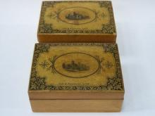 PAIR OF MAUCHLIN STORAGE BOXES