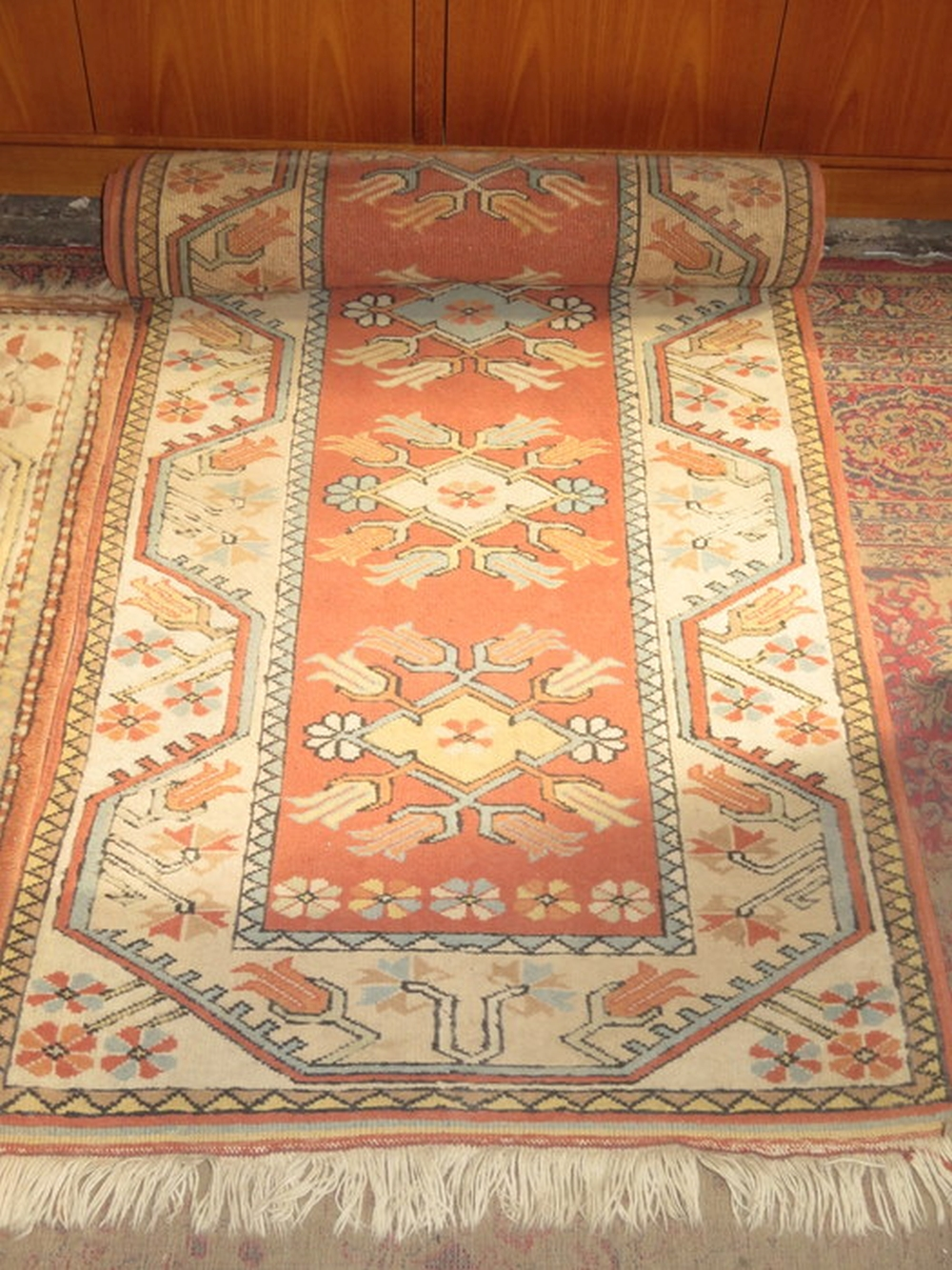Eastern European Turkish Hand Knotted Wool Pile