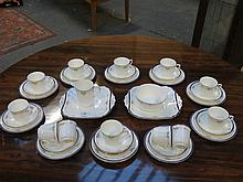 PARCEL OF SHELLEY TEAWARE, APPROXIMATELY THIRTY-PLUS PIECES