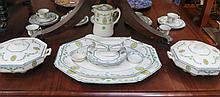 PARCEL OF WOODS WARE BROADMOOR DINNERWARE, APPROXIMATELY THIRTY-PLUS PIECES