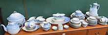 PARCEL OF ROYAL COPENHAGEN SEAGULL DINNERWARE, APPROXIMATELY EIGHTY-PLUS PIECES