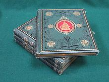 SET OF FOUR VOLUMES- THE NATIONAL BURNS BY REVEREND GEORGE GILFILLAN