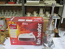 BOXED FAN HEATER AND JUICER