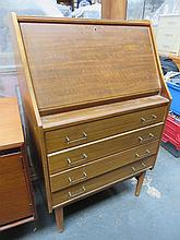 TEAK WRITING BUREAU.