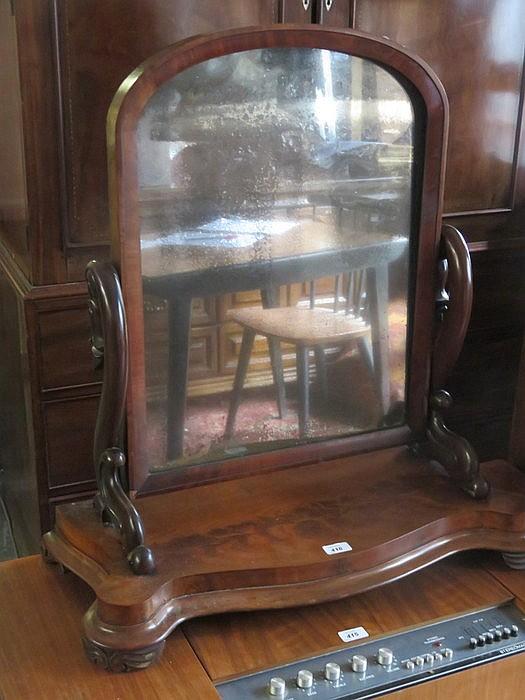 Large victorian bedroom swing mirror for Giant bedroom mirror