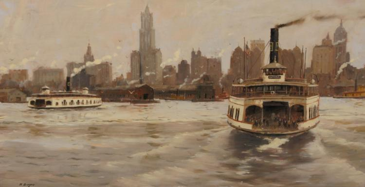 Elmira on Hudson by Nicholas Berger