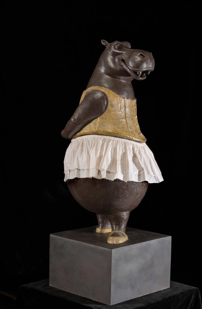 Hippopotamus Ballerina, Fourth Position by Bj?rn Skaarup