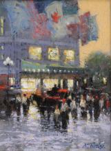Evening by John Terelak