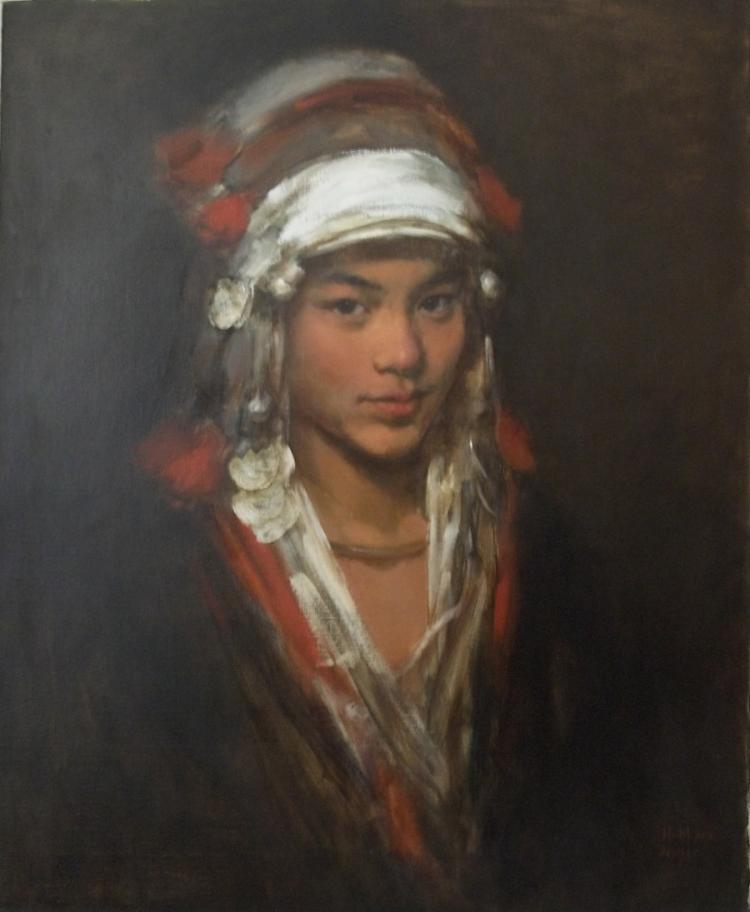 Aini Girl named Yan Xiang by Zhang Li