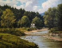 Mad River View by Frank Corso