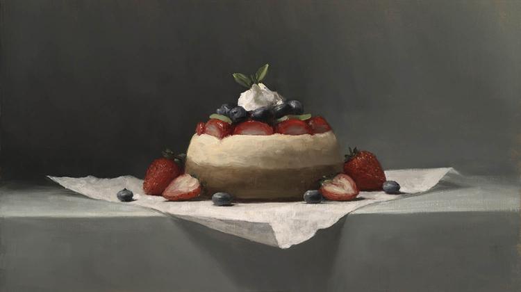 Petite Cheesecake by Sarah Lamb