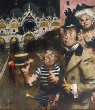 Volpone at San Marco by Jack Levine