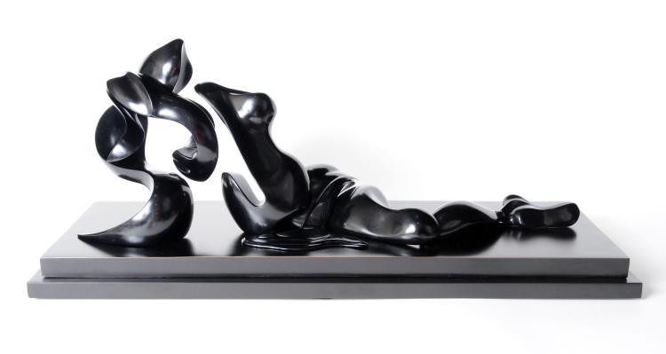 Moore's Canova (black), maquette by Alexander Krivosheiw