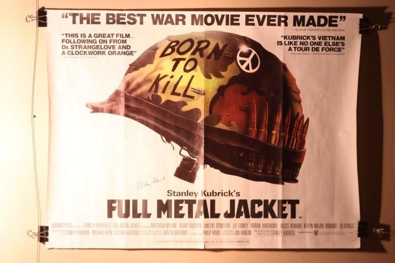 Movie Poster Born To Kill Signed