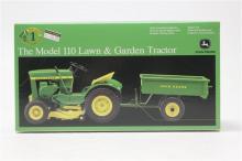 John Deere The Model 110 Lawn & Garden Tractor