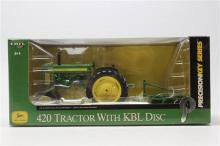 John Deere 420 Tractor w/KBL Disc