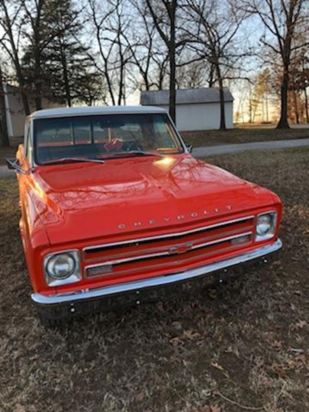 1967 Chevy C10 short bed pick up truck