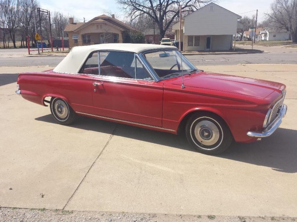 1963 Plymouth Valient Convertible Signet 200