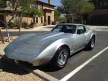 1973 Chevy Corvette Stingray (silver)