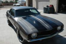 1969 Chevy Camaro Coupe (Metallic Gray)