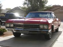 1966 Buick Wildcat Convertible (Red)